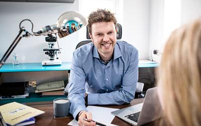 Meet Iain Sallis Hair Loss Network Trichologist